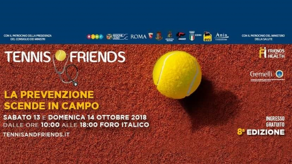 Tennis and Friends ottava edizione!